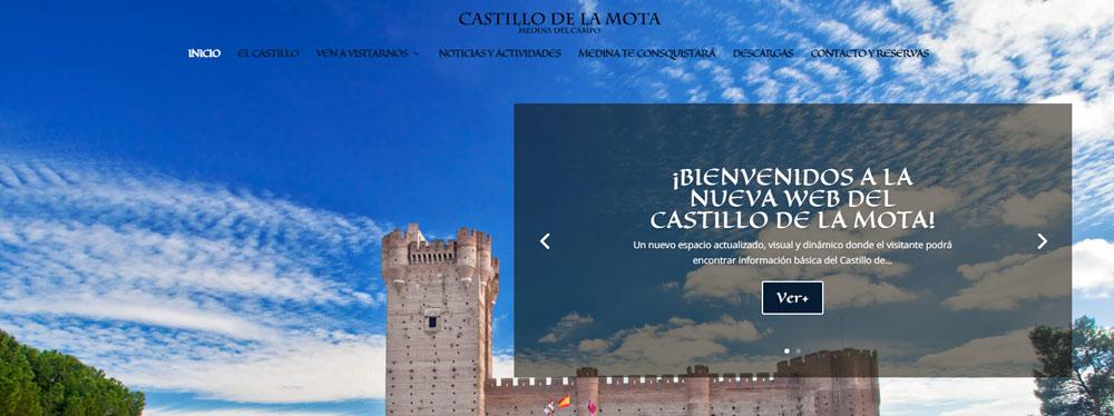 BIENVENUE SUR LE NOUVEAU SITE WEB DE CASTILLO DE LA MOTA!