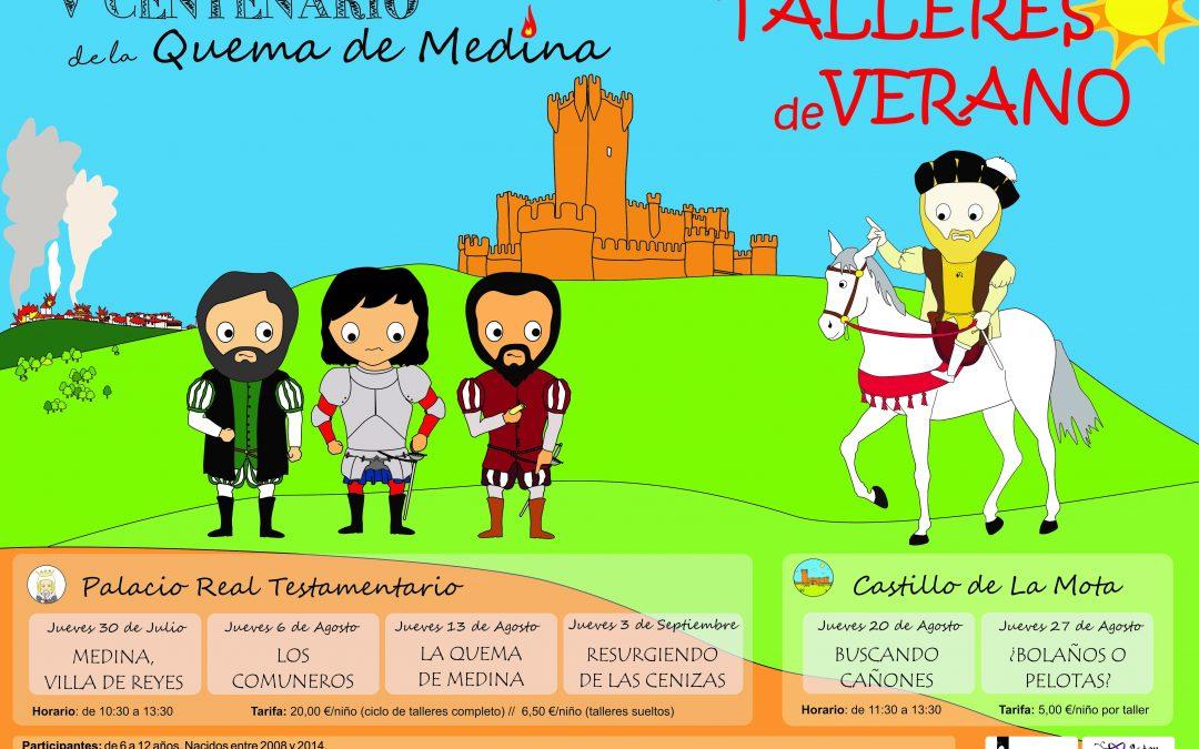 Los Talleres de la Reina en el Castillo de la Mota ¡Apúntate!