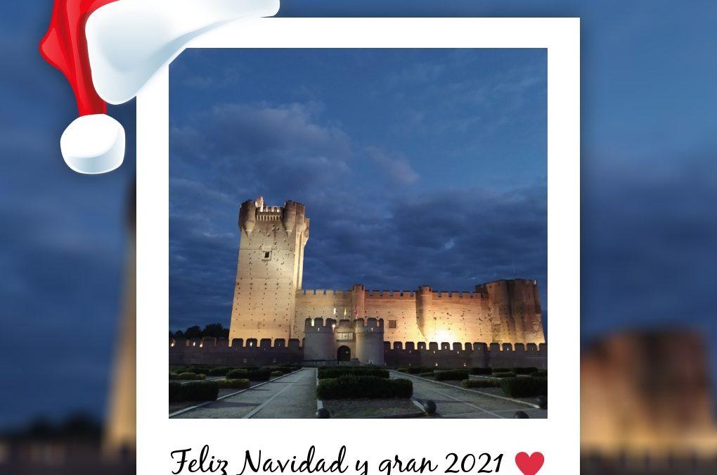 Desde el Castillo de la Mota os deseamos… ¡Feliz Navidad y GRAN 2021!