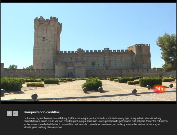 """El Castillo de la Mota de Medina del Campo será uno de los protagonistas en REPOR """"Conquistando Castillos""""."""
